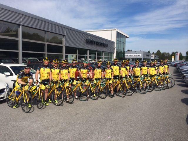 Team Rynkeby sykler til Paris