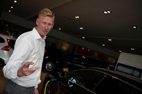 Jørn-Henning viser deg din nye Volvo