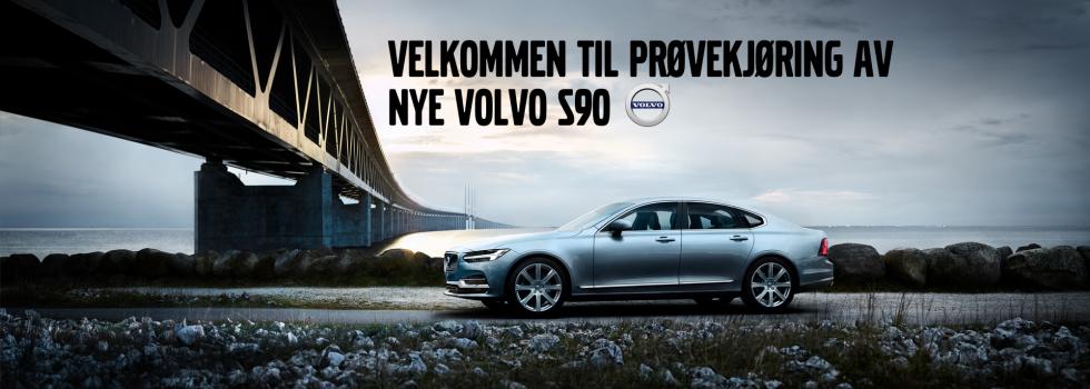 Velkommen til prøvekjøring av Volvo S90